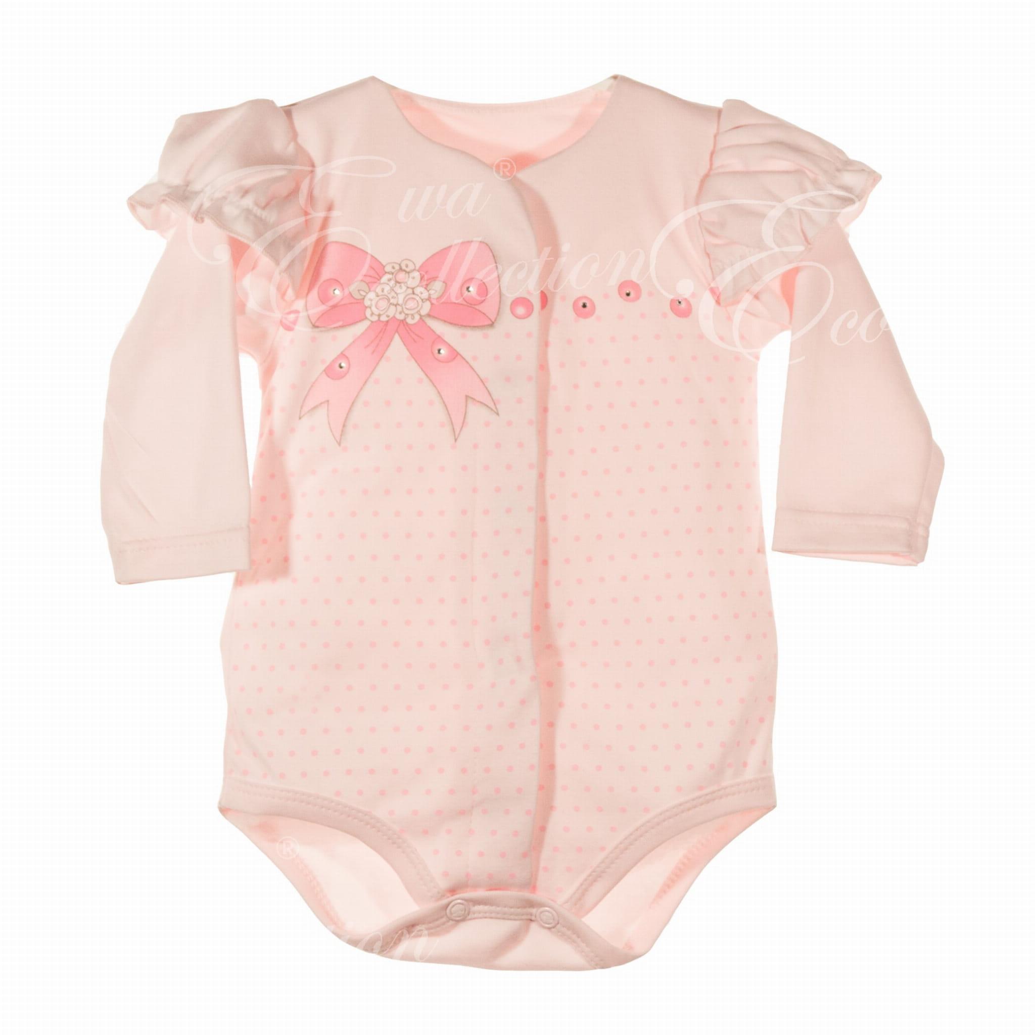 a714bd4d0da7b6 Body rozpinane LOLA róż New York Style - odzież niemowlęca, wyprawki ...