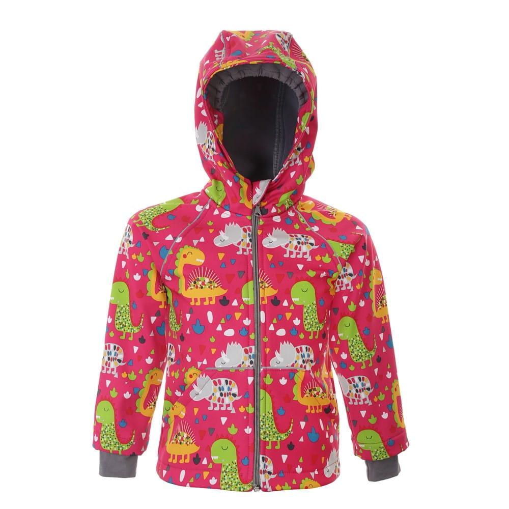 ef73f7128d99c1 Kurtka dla dziecka SOFTSHELL dinozaury New York Style - odzież ...